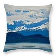 A Slice Of Alaska Throw Pillow