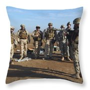 A Soldier Teaches How To Properly Throw Pillow