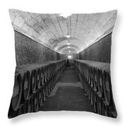 A Spanish Cellar Throw Pillow