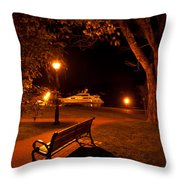 A Spot To Take In Throw Pillow