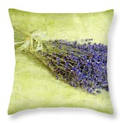 A Spray Of Lavender Throw Pillow