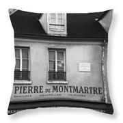 A St Pierre De Montmartre In Paris Throw Pillow
