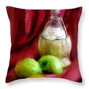 A Still Life Throw Pillow