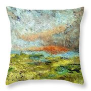 A Storm Is Coming Throw Pillow