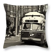 A Streetcar Named Desire Throw Pillow