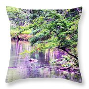 A Summer's Afternoon Throw Pillow