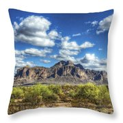 A Superstition Morning  Throw Pillow