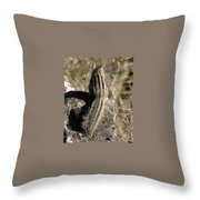 A Tail Untold Throw Pillow