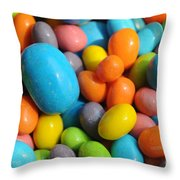 A Taste Of Color Throw Pillow