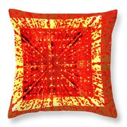 A Total Burst Of The Heart Throw Pillow