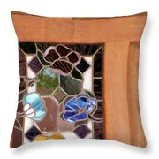 A Touch Of Glass Throw Pillow
