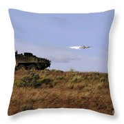 A Tow Missile Is Launched From An Throw Pillow