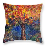 A Tree Grows Here Throw Pillow