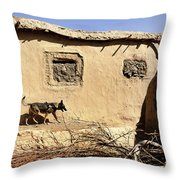 A U.s. Air Force K-9 Searches Throw Pillow