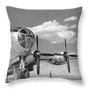 A U.s. Army Air Forces B-29 Throw Pillow