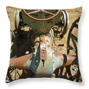 A Very Uncomfortable Seat Throw Pillow
