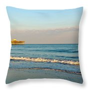 A View From The Beach Throw Pillow