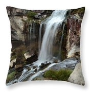 A View From The Edge Throw Pillow