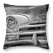 A Vintage Junk Plymouth Auto Throw Pillow