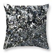 A Virus Has Spread Throw Pillow by Mark Stevenson