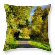 A Walk Amongst Nature Throw Pillow