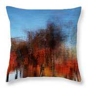 A Walk On The Esplanade Throw Pillow by Dana DiPasquale