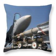 A Weapons Skid Carrying 500-pound Throw Pillow