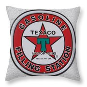 A Welcome Sign Throw Pillow