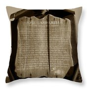 A West Indiaman Throw Pillow