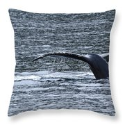 A Whale's Tale Throw Pillow