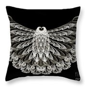 A Wise Old Owl Throw Pillow