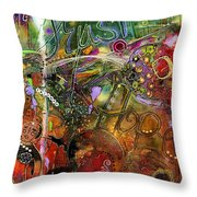 A World-full Of Hope Makes Room For Trust Throw Pillow