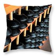 abacus III Throw Pillow