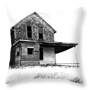 Abandoned And Alone 2 Throw Pillow