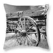 Farming Nostalgia Throw Pillow