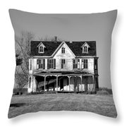 Abandoned IIi Throw Pillow