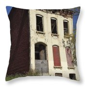 Abandoned In St. Louis Throw Pillow