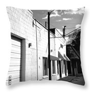 Abandoned Small Town Usa Throw Pillow