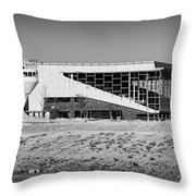 Abandoned Trotter Park Throw Pillow