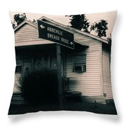 Abbeville Breaux Bridge Throw Pillow