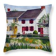 Abbott House Throw Pillow