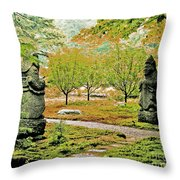 Abby Aldrich Rockefeller Garden Pathfinders Throw Pillow