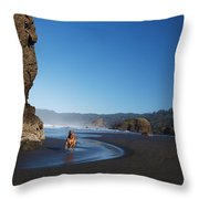 Abby The Great Throw Pillow