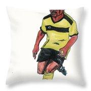 Abedi Pele Throw Pillow
