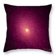 Abell 2029 Galaxy Cluster, X-ray Image Throw Pillow by NASA / Science Source