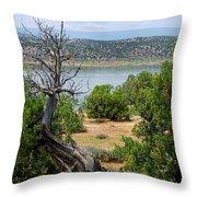 Abiquiu Lake New Mexico 2 Throw Pillow