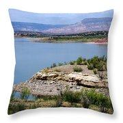 Abiquiu Lake New Mexico Throw Pillow