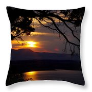 Abiquiu Sunset Throw Pillow