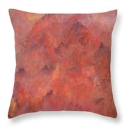 Abode Of The Immortals Throw Pillow