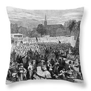 Abolition Of Slavery Throw Pillow